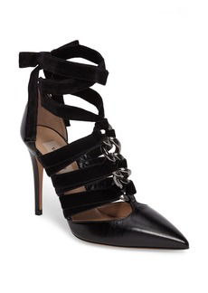 Valentino Velvet Rope Pointy-Toe Pump (Women)