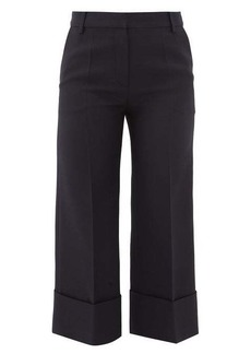 Valentino Virgin wool-blend cropped trousers