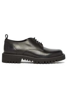 Valentino VLogo leather derby shoes