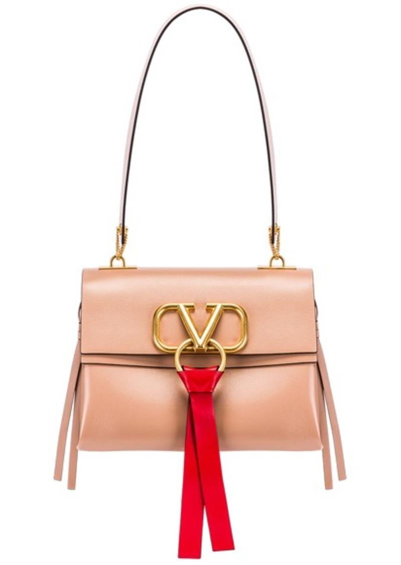 Valentino VLogo Ribbon Shoulder Bag