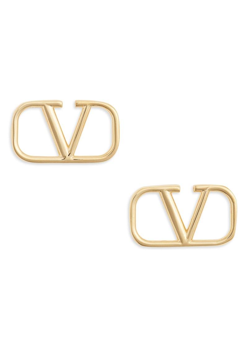 Valentino VLOGO Stud Earrings