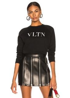 Valentino VLTN Faded Cotton Sweatshirt