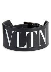Valentino VLTN Leather Bracelet