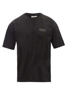 Valentino VLTN logo-patch cotton-jersey T-shirt
