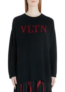 Valentino VLTN Logo Wool & Cashmere Sweater