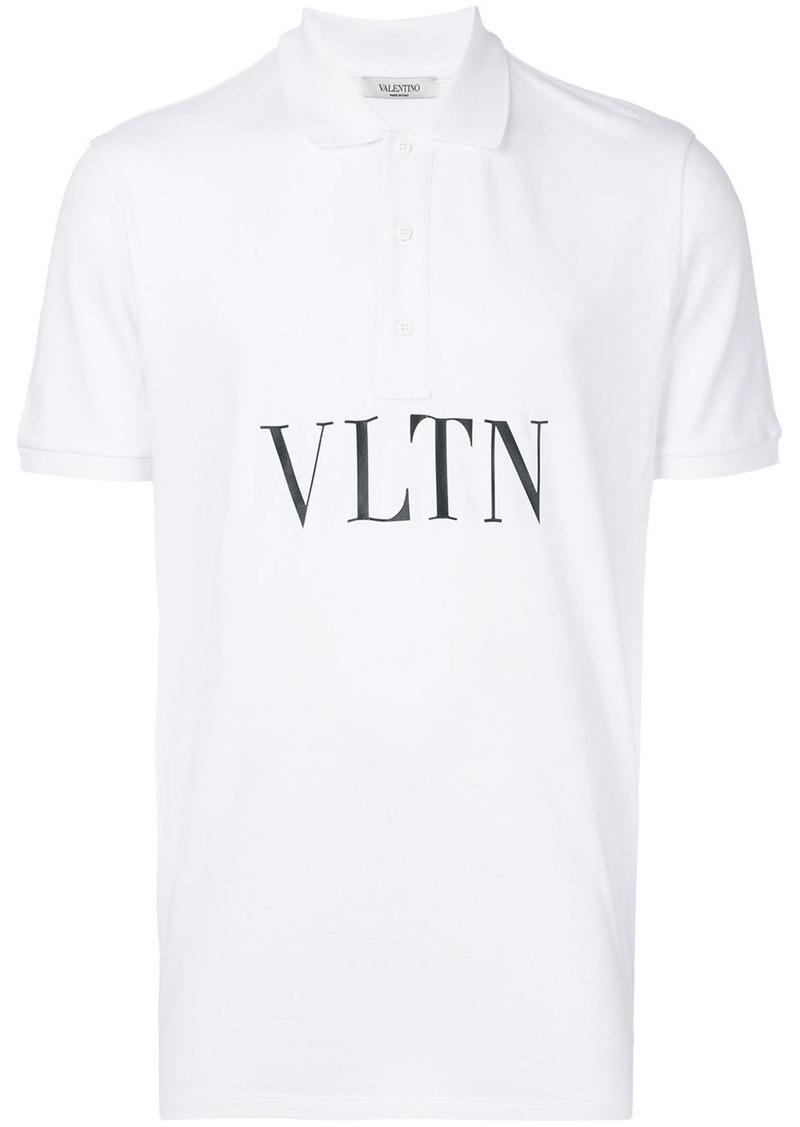 Valentino VLTN print polo shirt