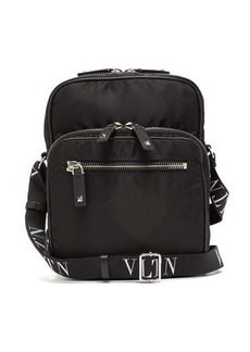 Valentino VLTN technical canvas messenger bag
