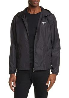 Valentino VTLNSTAR Logo Hooded Jacket