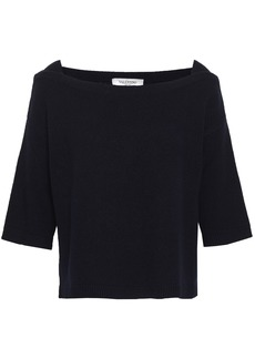 Valentino Woman Cashmere Sweater Midnight Blue