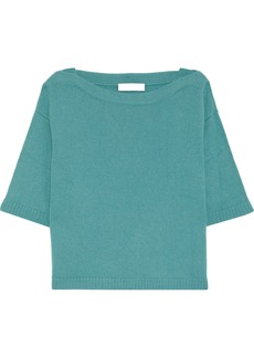 Valentino Woman Cashmere Top Teal
