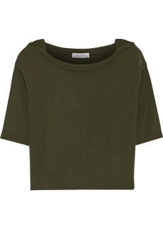 Valentino Woman Cashmere Top Army Green