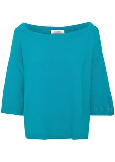 Valentino Woman Cashmere Top Turquoise
