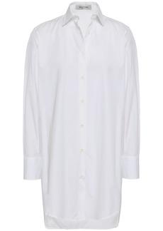 Valentino Woman Cotton-poplin Shirt White