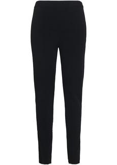 Valentino Woman Stretch-knit Leggings Black