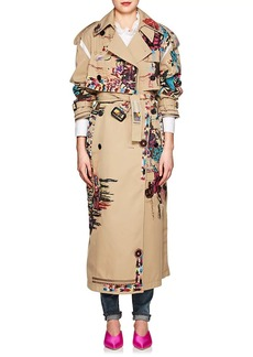 Valentino Women's 2-In-1 Embellished Trench Coat