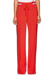 Valentino Women's Faille Track Pants