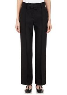 Valentino Women's Faille Trousers