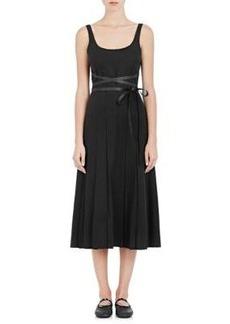 Valentino Women's Felt Belted Midi-Dress