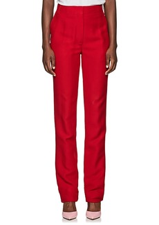 Valentino Women's Flared Silk-Wool Pants