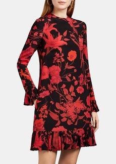 Valentino Women's Floral Silk Crêpe De Chine Dress