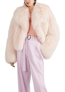 Valentino Women's Fox-Fur Jacket