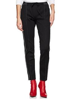 Valentino Women's Logo-Print Jersey Track Pants