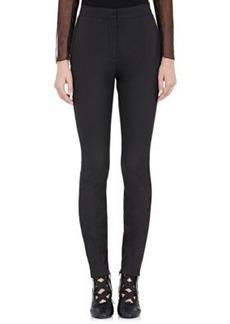 Valentino Women's Luxe Twill Tuxedo Trousers