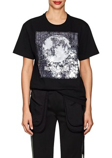 "Valentino Women's ""Moonlover"" Embellished Cotton T-Shirt"