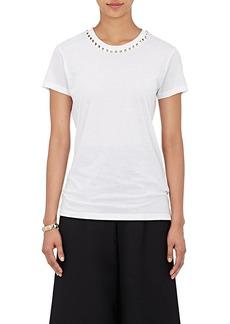 Valentino Women's Pyramid-Studded T-Shirt