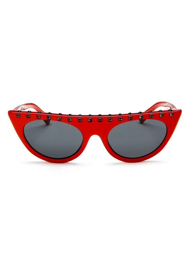 2519247461819 Valentino Valentino Women's Rockstud Cat Eye Sunglasses, 52mm ...