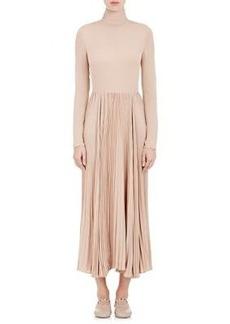 Valentino Women's Silk Midi-Dress
