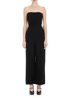 Valentino Women's Silk Strapless Jumpsuit