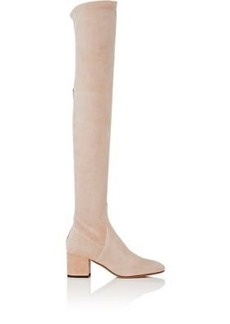 Valentino Women's Stretch-Suede Over-The-Knee Boots
