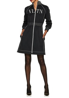 Valentino Women's Track-Jacket-Style Minidress