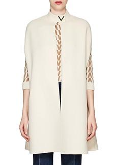 Valentino Women's V-Ornament Wool-Angora Cape