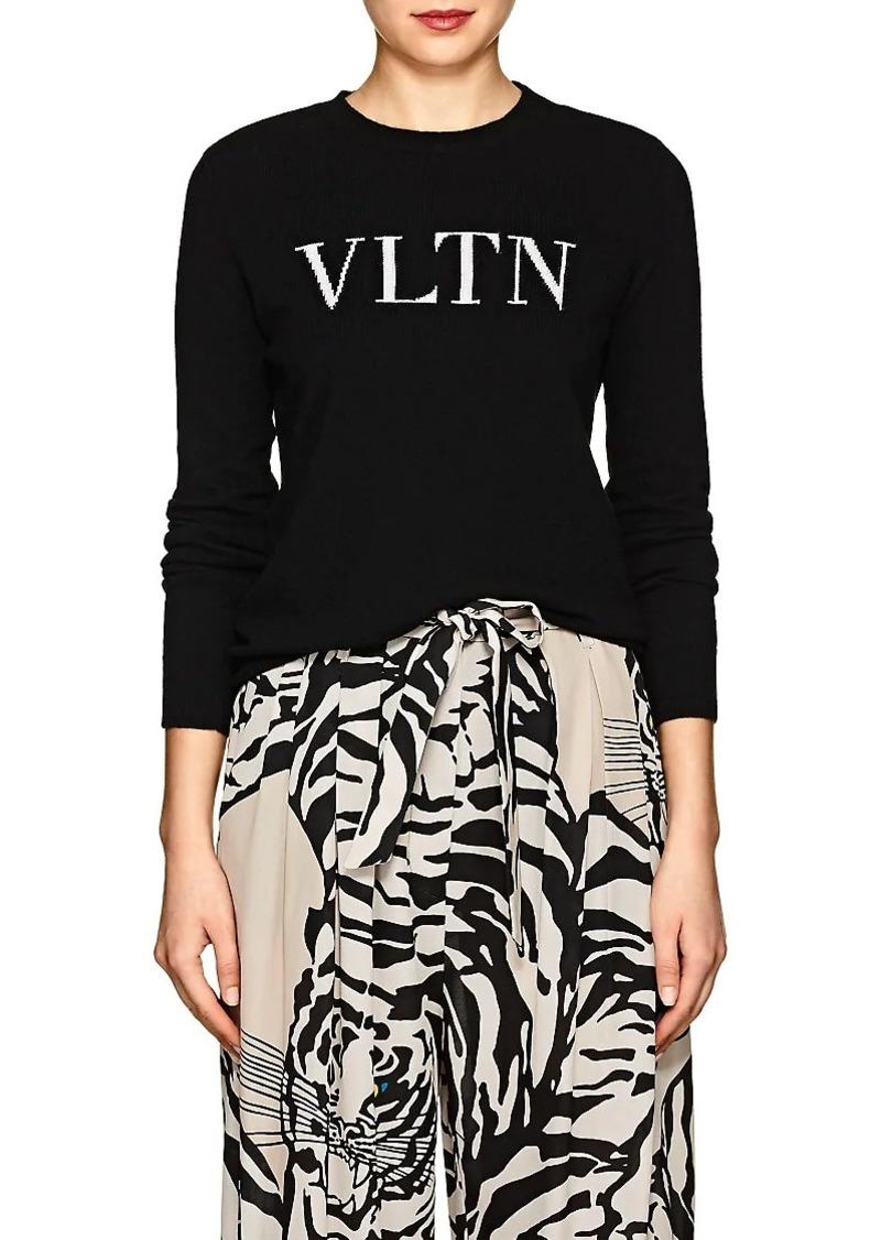 """Valentino Women's """"VLTN"""" Wool-Cashmere Sweater"""