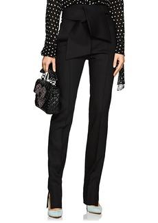 Valentino Women's Wool-Blend Gazar Slim Trousers