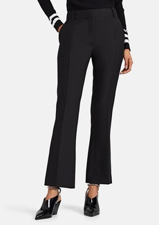 Valentino Women's Wool-Silk Crepe Ankle Trousers