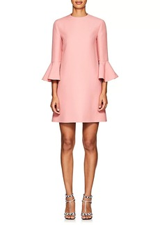 Valentino Women's Wool-Silk Crepe Shift Dress