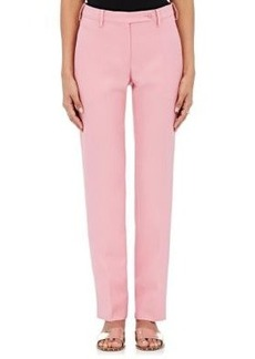 Valentino Women's Wool-Silk Tailored Trousers