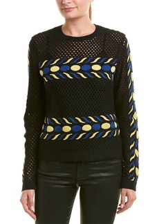 Valentino Wool & Cashmere-Blend Knit Top
