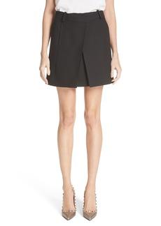 Valentino Wool & Silk Envelope Skirt
