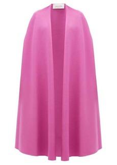 Valentino Wool-blend cape