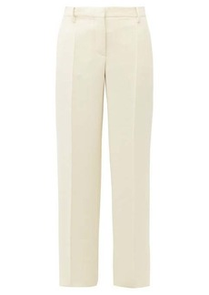 Valentino Wool-gabardine wide-leg trousers