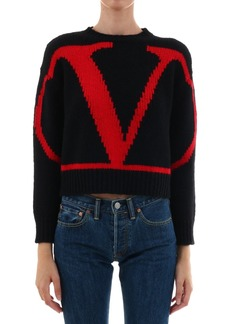 Valentino Wool Sweater Vlogo