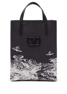 Valentino X Undercover Time Traveller canvas tote bag