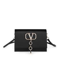 Valentino Garavani Small VCase Satin Crossbody Bag