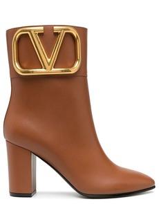 Valentino VLOGO block-heel ankle boots