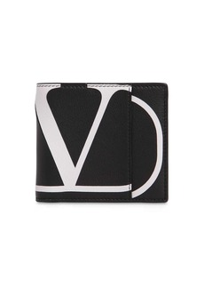 Valentino Vlogo Classic Leather Wallet