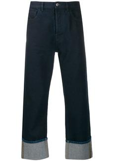 Valentino VLOGO pocket denim jeans